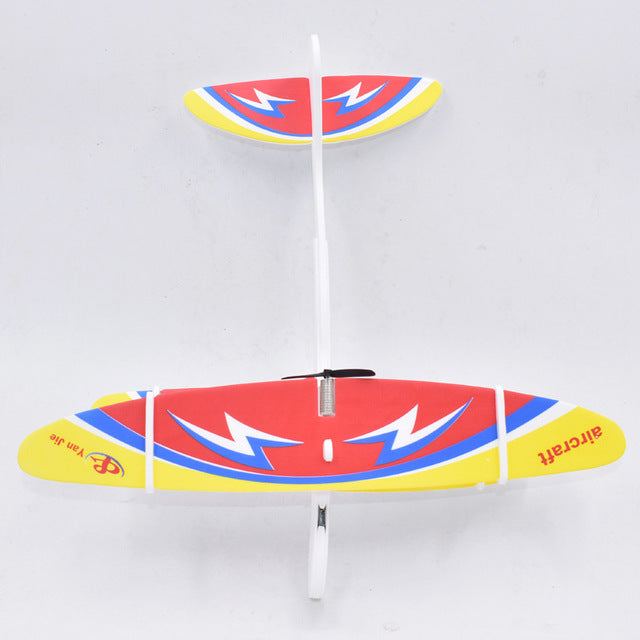 Kids Toys DIY Assembled Aircraft Fix Wing Durable EPP Foam Airplane
