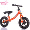 Infant Shining Pedal-less Kids Balance Bicycle Children Scooter Child Balance Bike Walker 10in for 2~6 Years Old Children