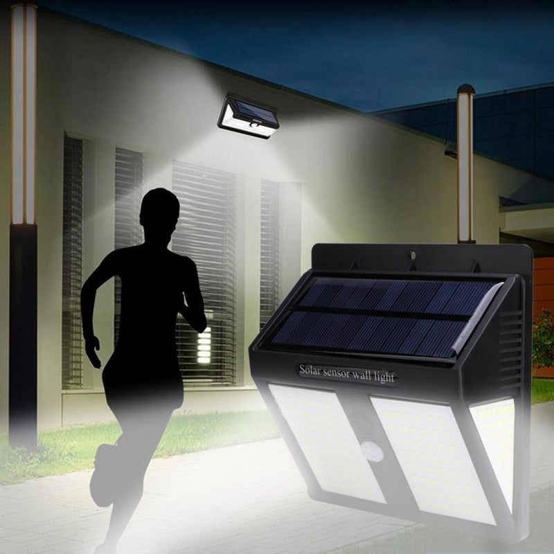 Outdoor Solar Light 146 LED Waterproof Solar Wall Light Human