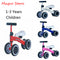Baby Balance Toddler Bike Walker Kids Ride On Toy Gift For 1-3years Old Children For Learning Walk Scooter Dropshipping
