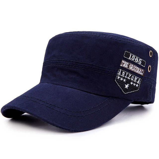 2019 Spring Autumn Classic Men Military Caps Army Hats Men's Flat