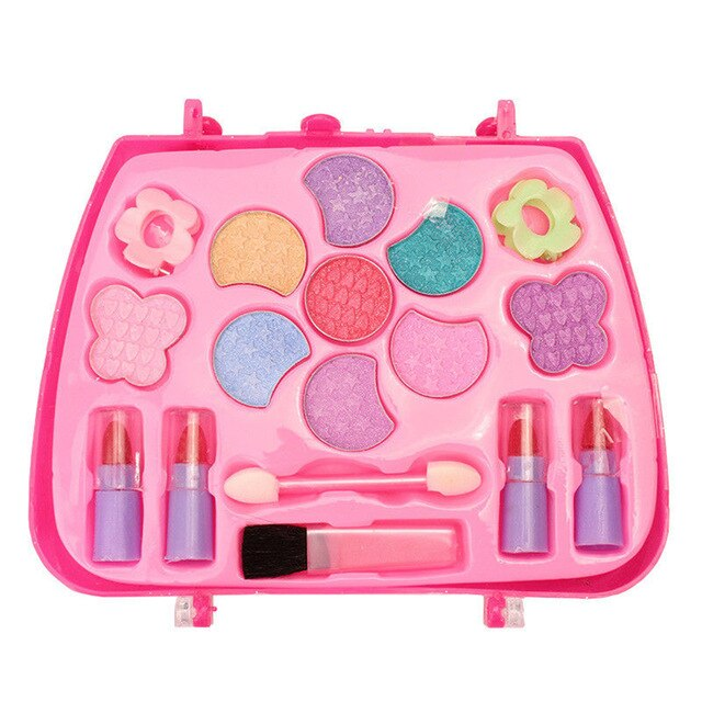 Kids Girls Makeup Kit Toys Makeup Set Preschool Kids Beauty Safety