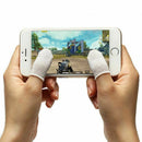 Newly 10Pcs Mobile Finger Sleeve Sensitive Game Controller