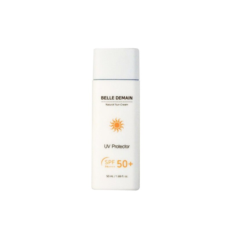 Sun Cream- Belle Demain Natural Sunblock(50ml) Facial Sunscreen Lotion Skin Care Face Care Korea Cosmetic UV Protector SPF50+