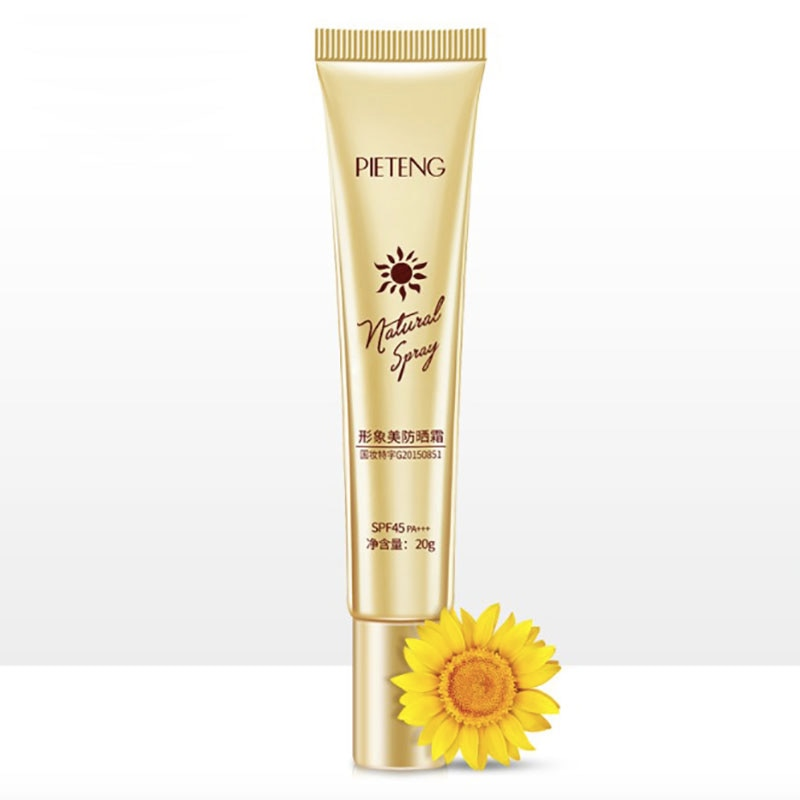 Beauty Body Skin Care Facial Sunscreen Cream Spf Max 45 Oil Free Radical Scavenger Anti Oxidant UVA/UVB Sunblock