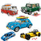 Technic Bricks Mini Cooper The T1 Camper Van Car Model Set City