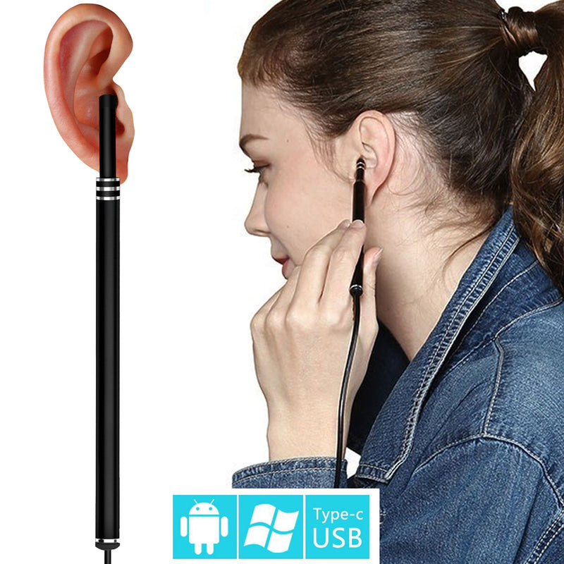 Ear Cleaning Tool HD Camera Ear Cleaning Endoscope 3 in1 USB OTG