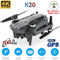 2020 new 5G drone K20, GPS and 4K high-definition electric adjustment