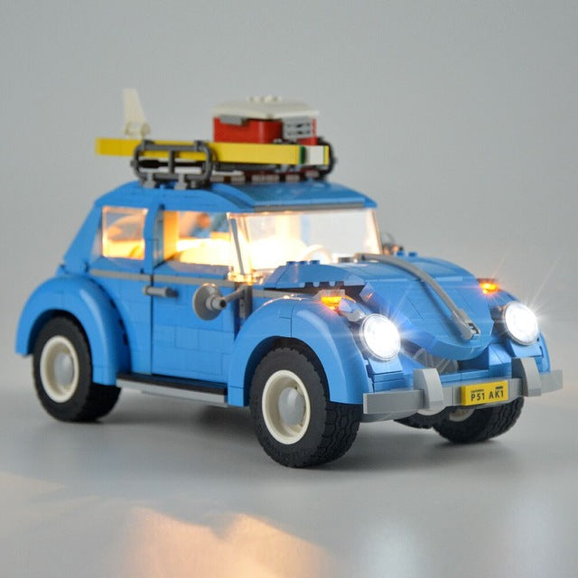 Volkswagen Technic T1 Camper Car Van Beetle Fit Children Creator