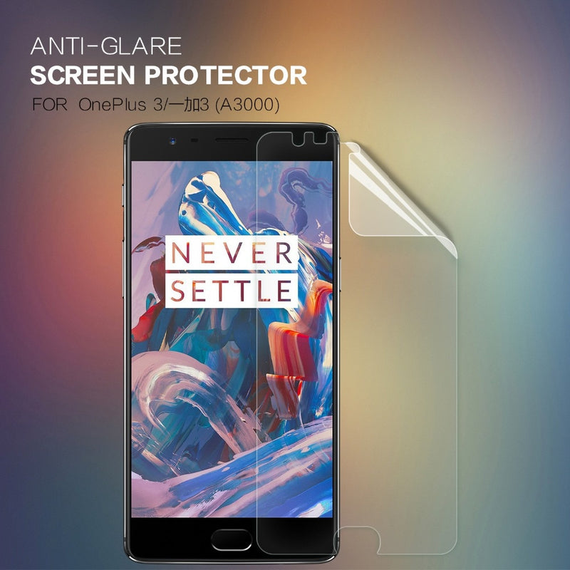 2 pcs/lot Screen Protector For Oneplus 3 3T A3000 NILLKIN Matte Film