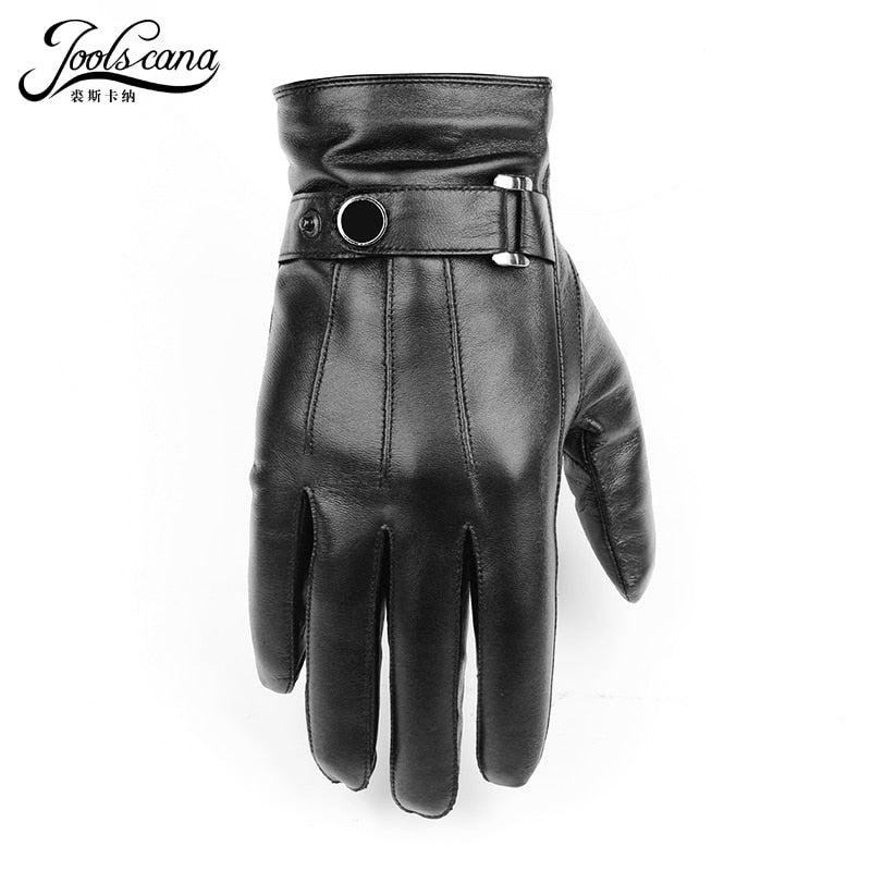 OOLSCANA top1gloves men genuine leather winter Sensory tactical