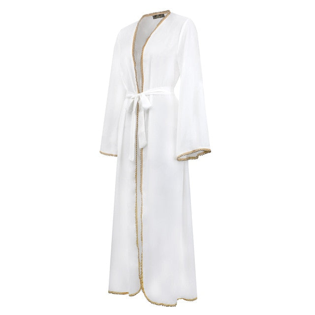 New Abaya In Dubai Dress Muslim Robe Burqa Kuftan Pakistani Dresses