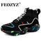 FEOZYZ Knit Vamp High Top Sneakers Men Women Size 35-47 Life