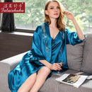 Silk Robe and Gown Set Women