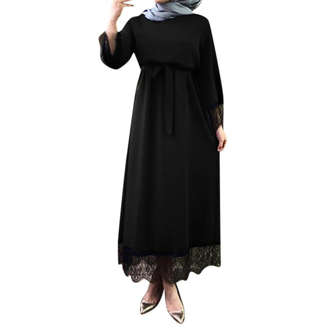 KLV High Quality Turkish Islamic Malaysia Muslim Arab Dress Middle