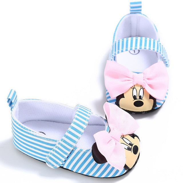 2019 Disney Minnie mouse spring and summer new 0-1 female baby