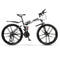 21 Variable speed mountain bike 24 and 26 inch folding mountain bicycle double damping disc brakes 10 knife wheel mountain bike