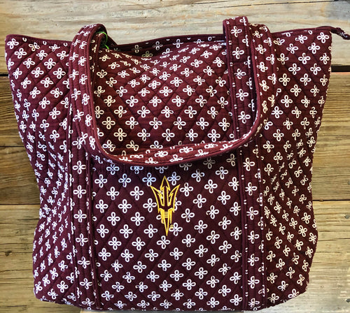 Vera Bradley Arizona State University Tote
