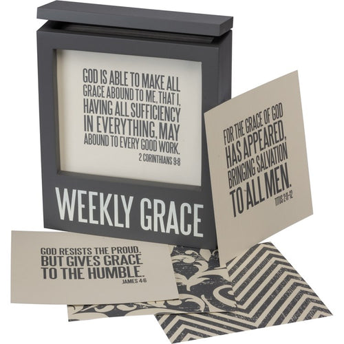 Words of Wisdom: Weekly Grace