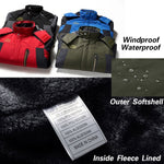 2020 Mens Thick Winter Jacket Casual/Snow Hiking Mountain Outerwear