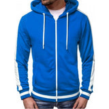 Mens Trackie Casual Zipper