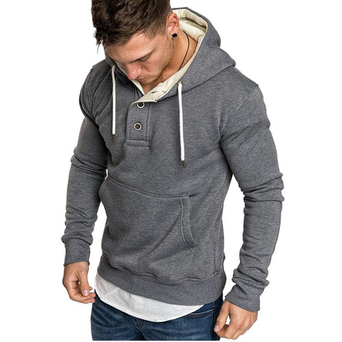 Mens Contemporary Sweater Hoodie