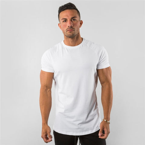 Mens Plain Fashion Tee Smart Casual