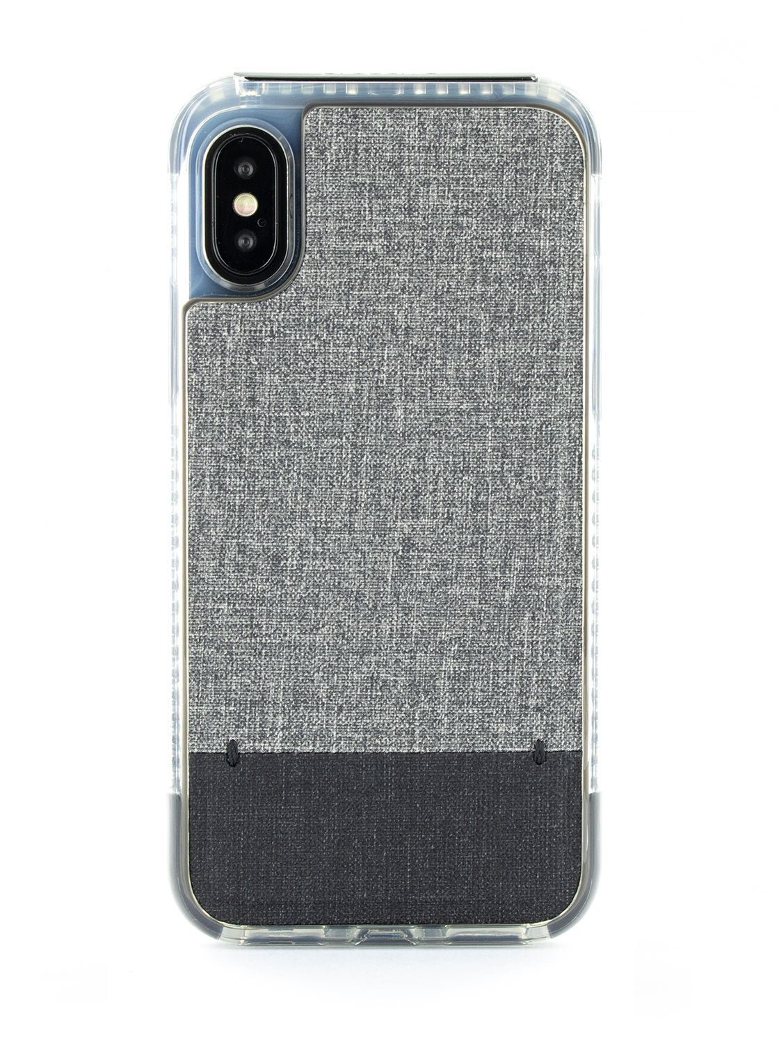 FLEX Anti Shock Kickstand Case for iPhone XS / X - Grey Marl