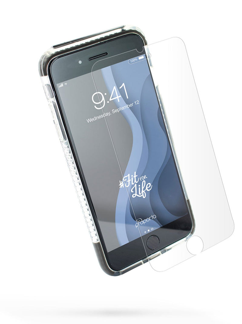 Front image of the Proporta Apple iPhone 8 Plus / 7 Plus phone case in Grey