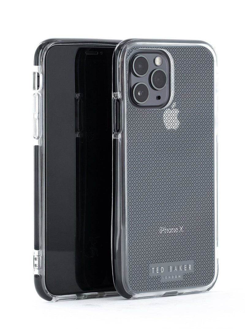 Ted Baker GEO T Anti Shock Case for iPhone 11 Pro - Clear Back