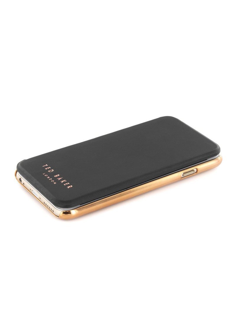 Face up image of the Ted Baker Apple iPhone 6S / 6 phone case in Black