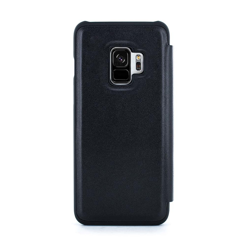 Samsung Galaxy S9 Leather Phone Case - Black