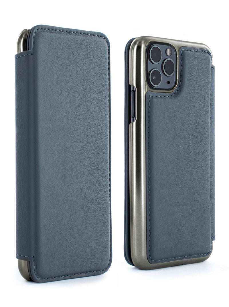 BLAKE Leather Case for iPhone 11 Pro - Seal (Grey)