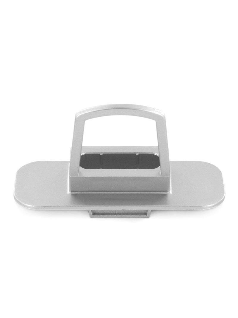 Back image of the Proporta Lightning Dock Devices mount in Silver
