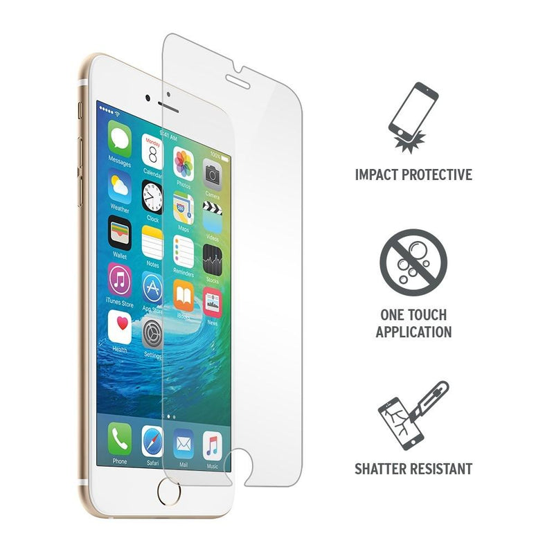 Ultra-Tough iPhone 6 / 6S Tempered Glass Shield Screen Protector