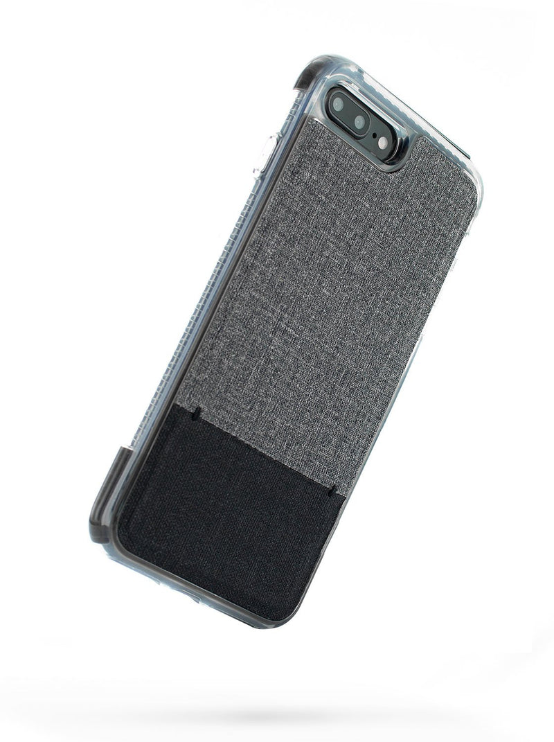 Back image of the Proporta Apple iPhone 8 Plus / 7 Plus phone case in Grey