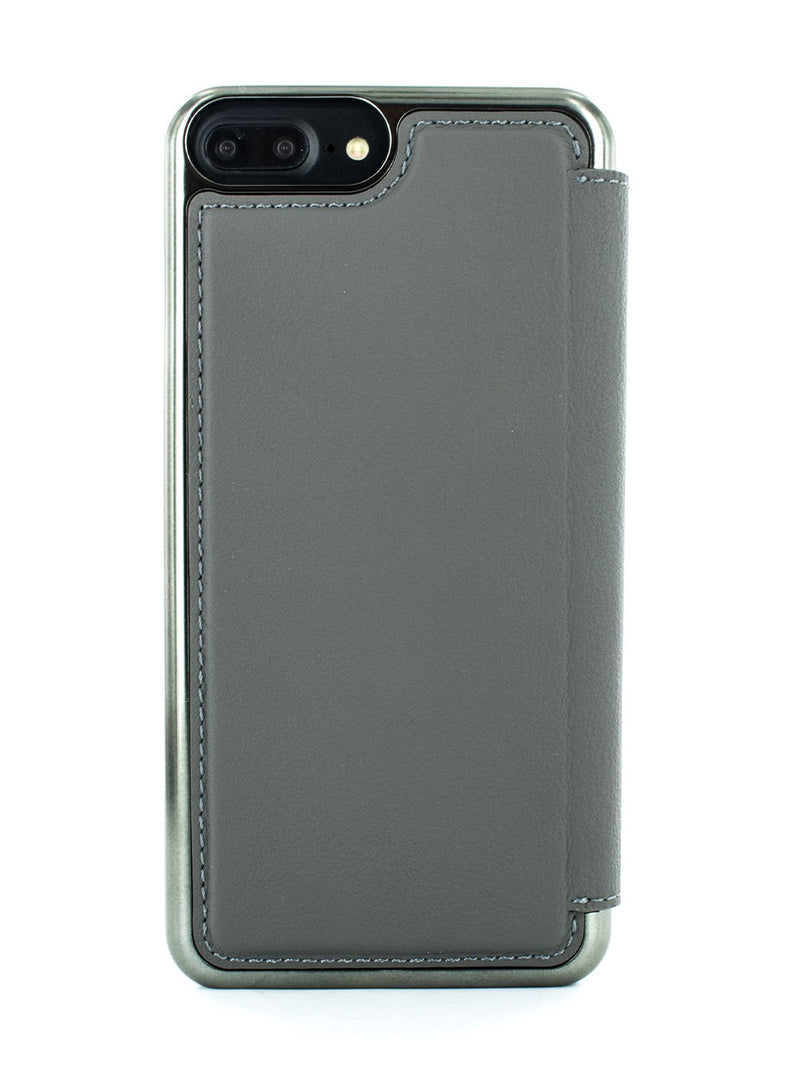Back image of the Greenwich Apple iPhone 8 Plus / 7 Plus phone case in Porpoise Grey