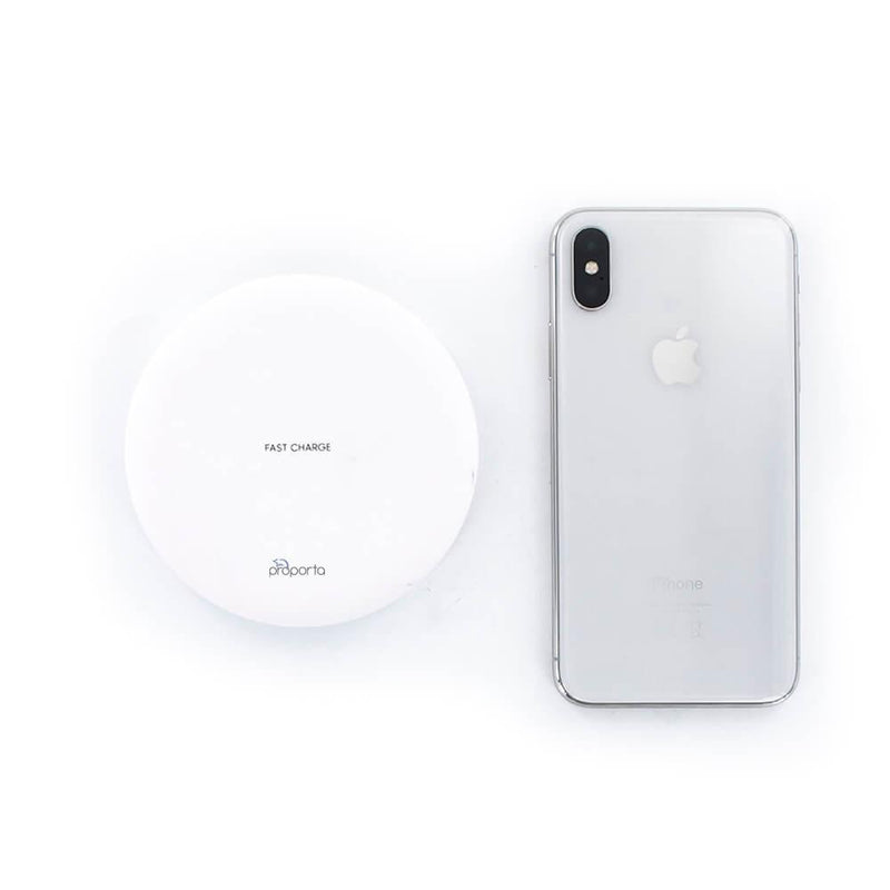 Universal Wireless Charging Pad - Qi Compatible - White