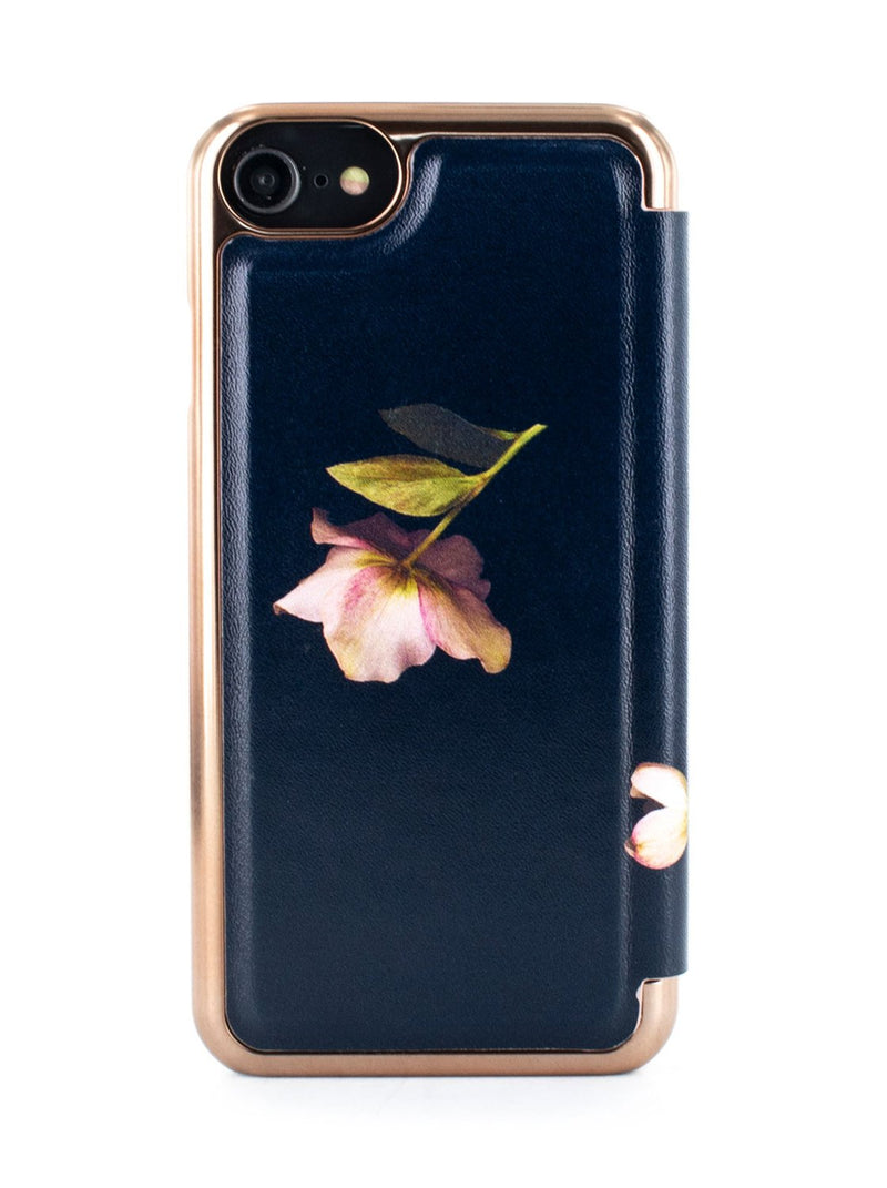 Back image of the Ted Baker Apple iPhone 8 / 7 / 6S phone case in Arboretum Black