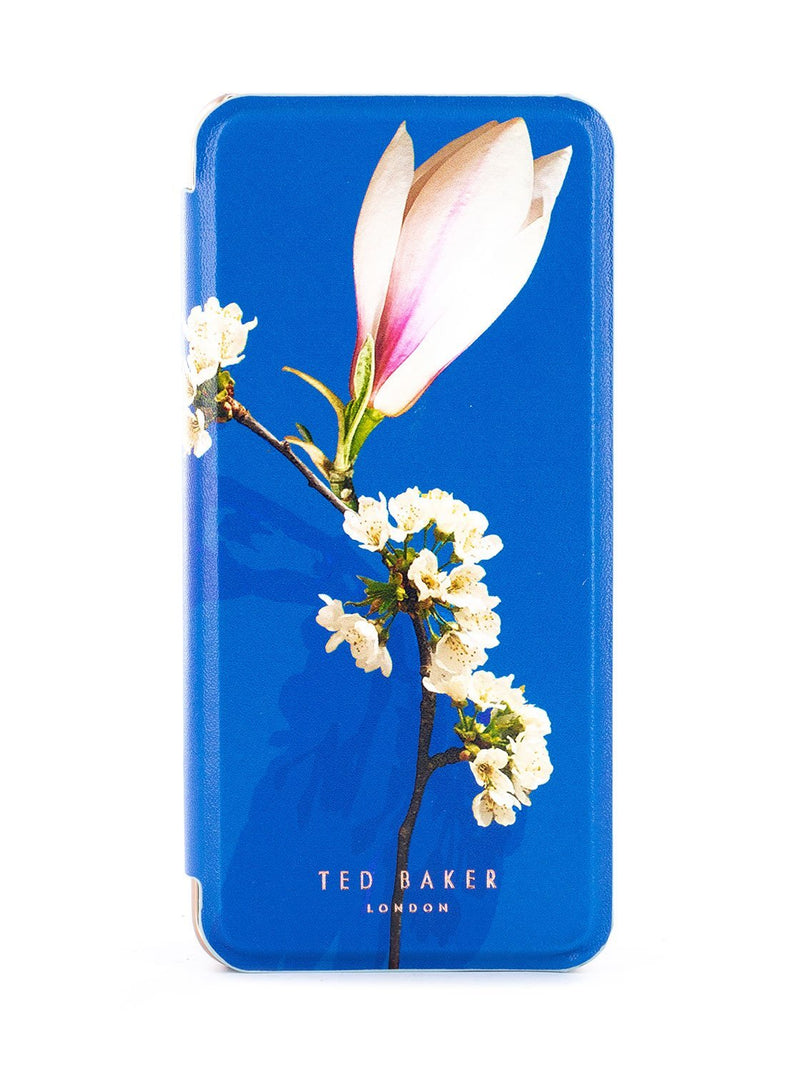 Hero image of the Ted Baker Samsung Galaxy S9 phone case in Blue