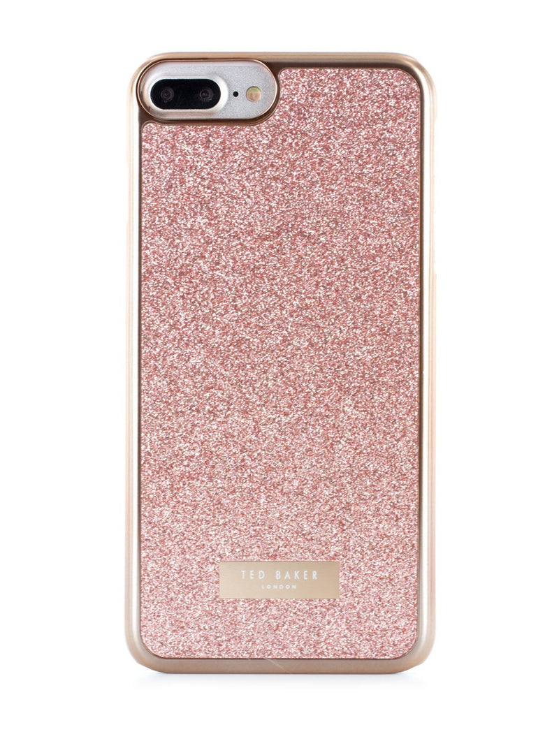 Hero image of the Ted Baker Apple iPhone 8 Plus / 7 Plus phone case in Rose Gold