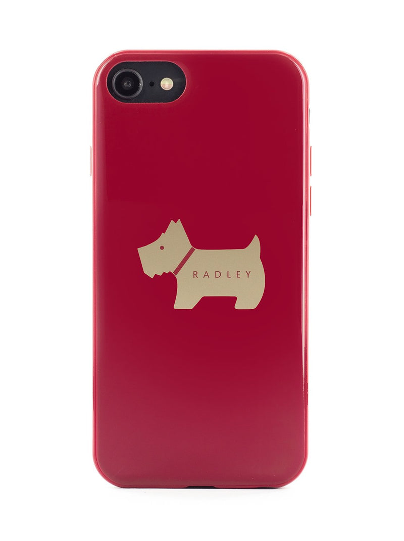 RADLEY Back Shell for iPhone SE (2020) / 8 / 7 / 6 - Claret