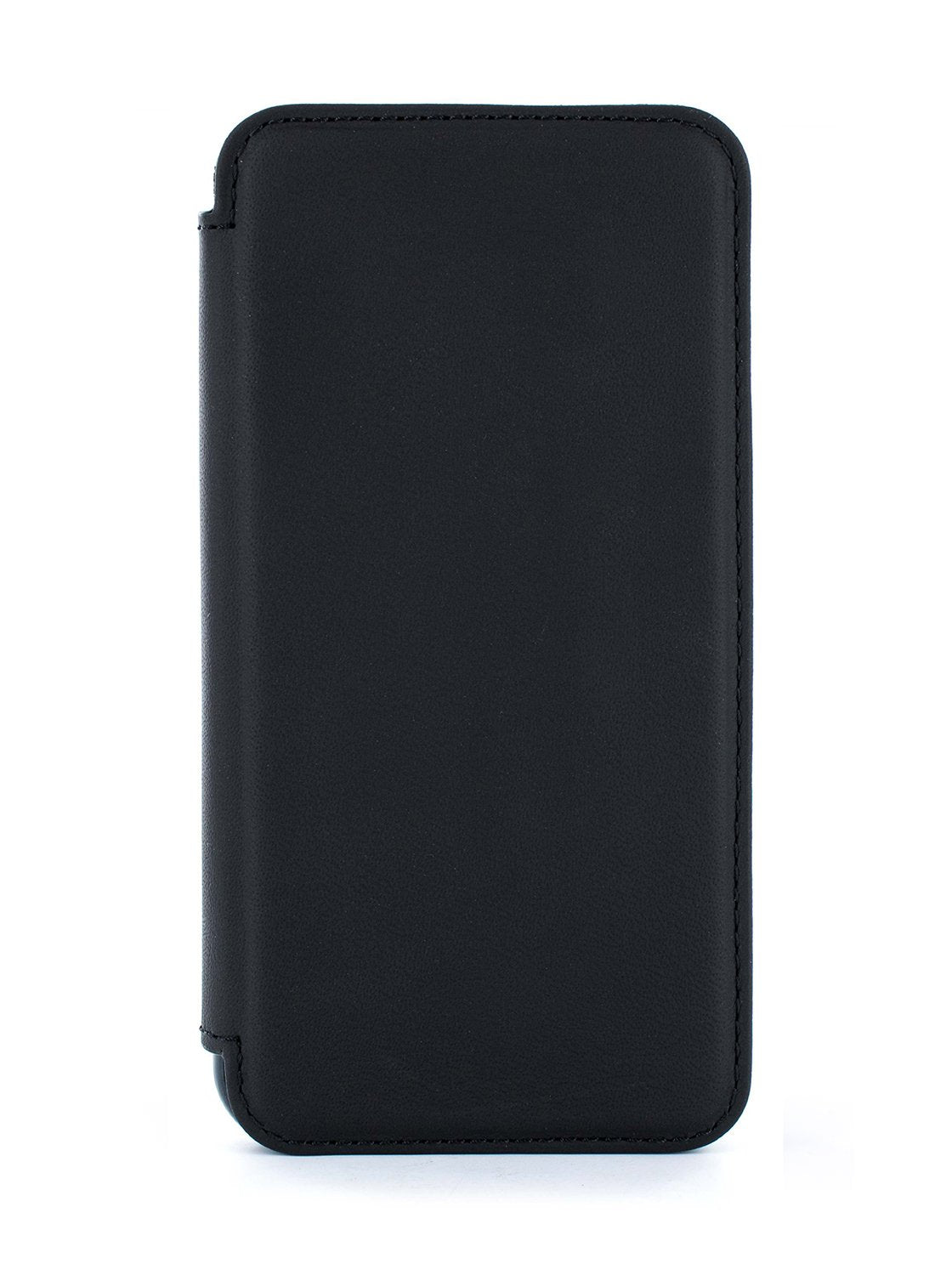BLAKE Luxury Leather Case for iPhone XS Max - BELUGA (BLACK)/GUNMETAL