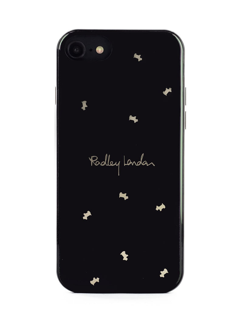 RADLEY Back Shell for iPhone SE (2020) / 8 / 7 / 6 - Black & Gold