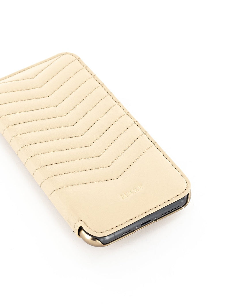 Greenwich Classic Leather Case For iPhone 11 Pro - PORTLAND / SHORTBREAD