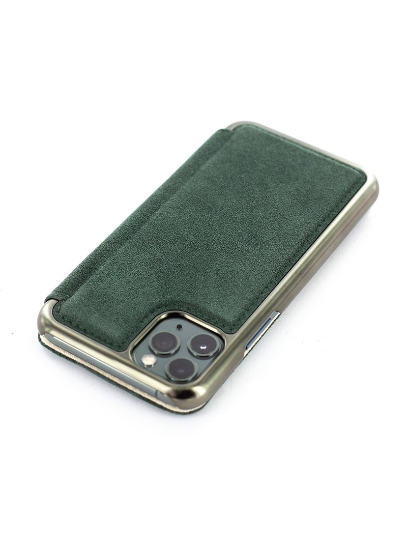 Greenwich BLAKE Classic Alcantara Case for iPhone 11 Pro Max - Sage (Green)