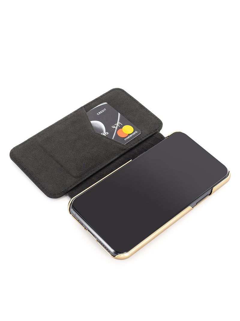 Greenwich Classic Leather Case For iPhone 11 Pro Max - PORTLAND / BELUGA
