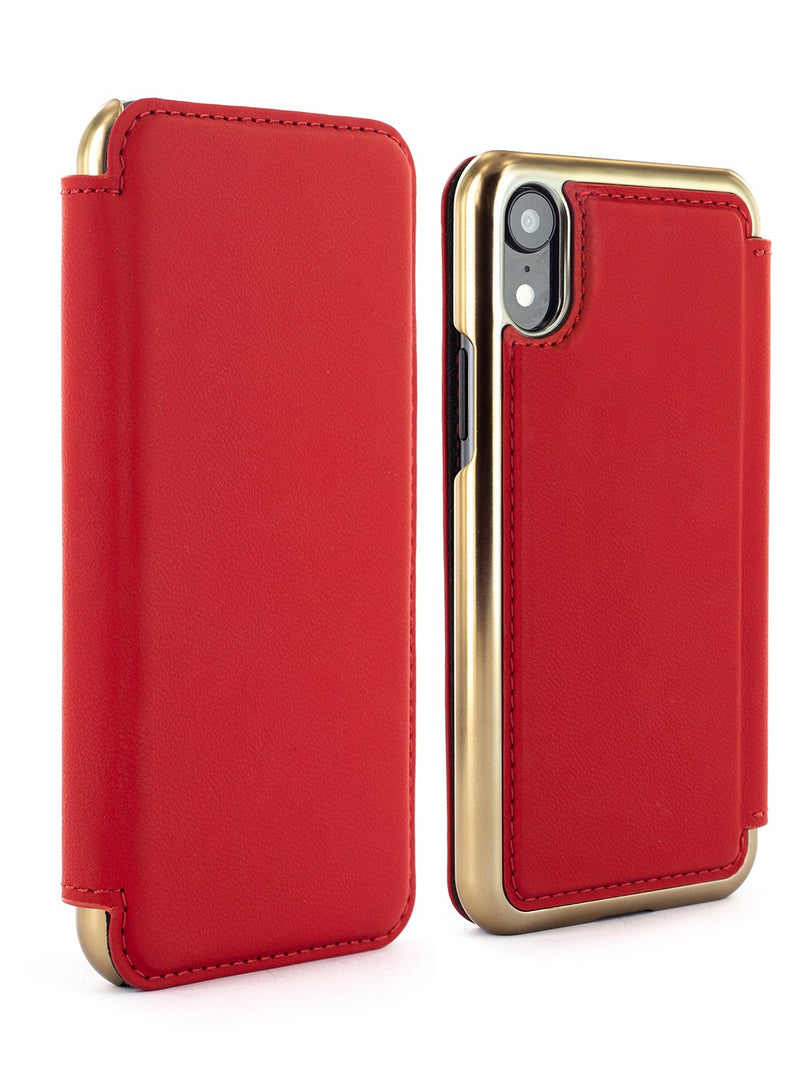Luxury Leather Case for iPhone XR