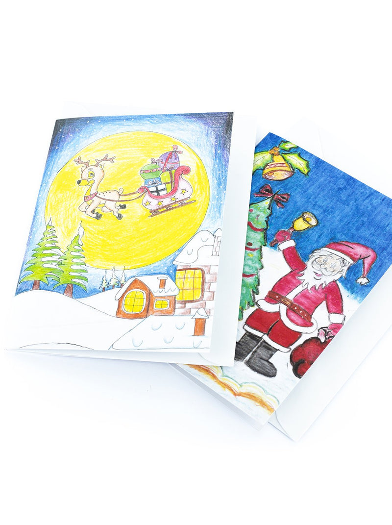 CHARITY CHRISTMAS CARDS - PROPORTA EDUCATION FOUNDATION - 12 PACK (4 DESIGNS)