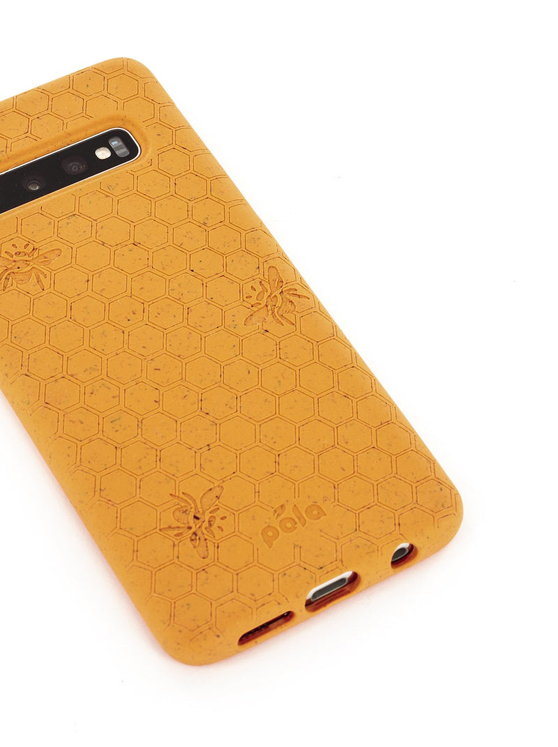 Limited Edition Pela Eco-friendly Case for Samsung S10 - Honey Bee